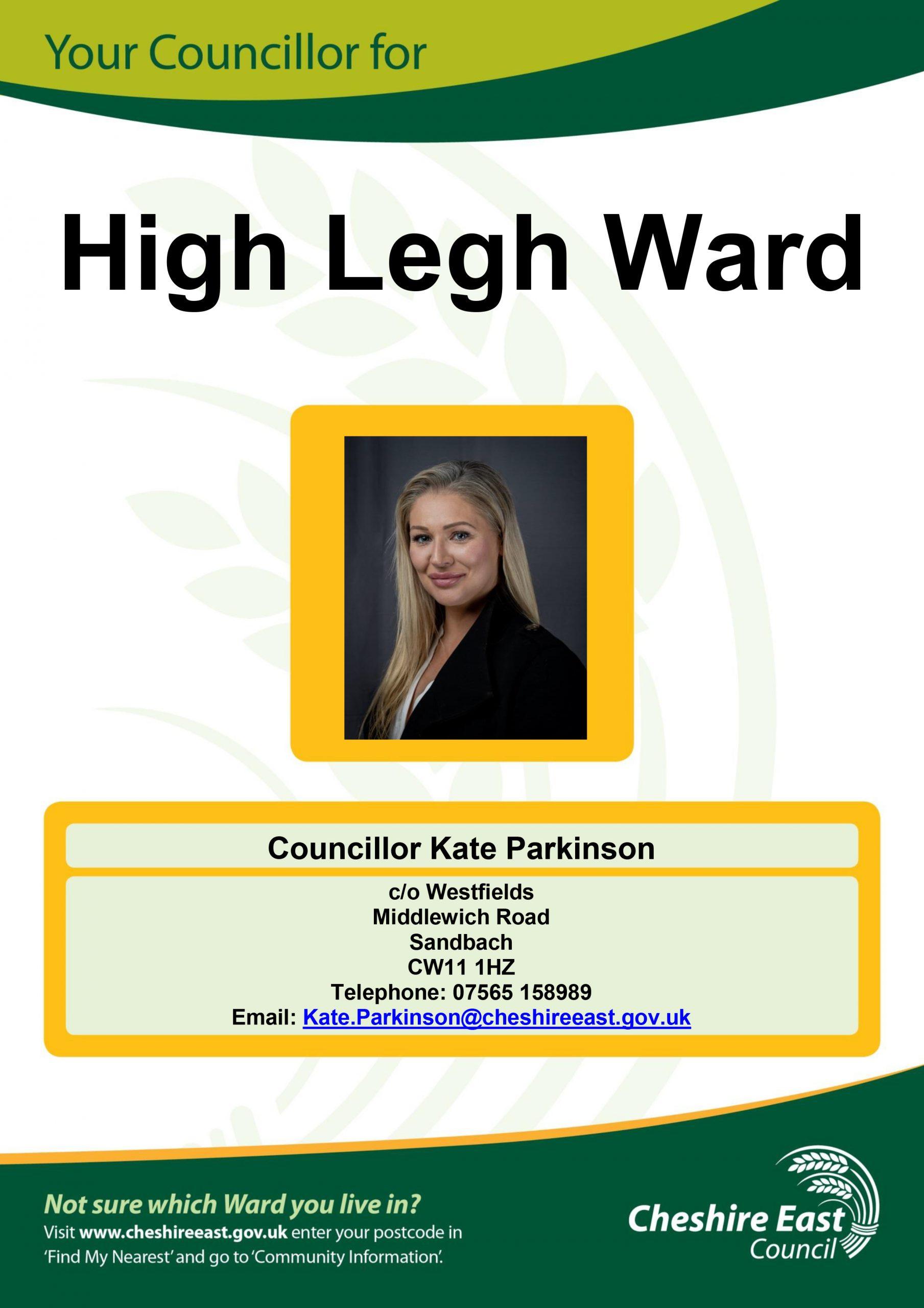 Ward Councillor